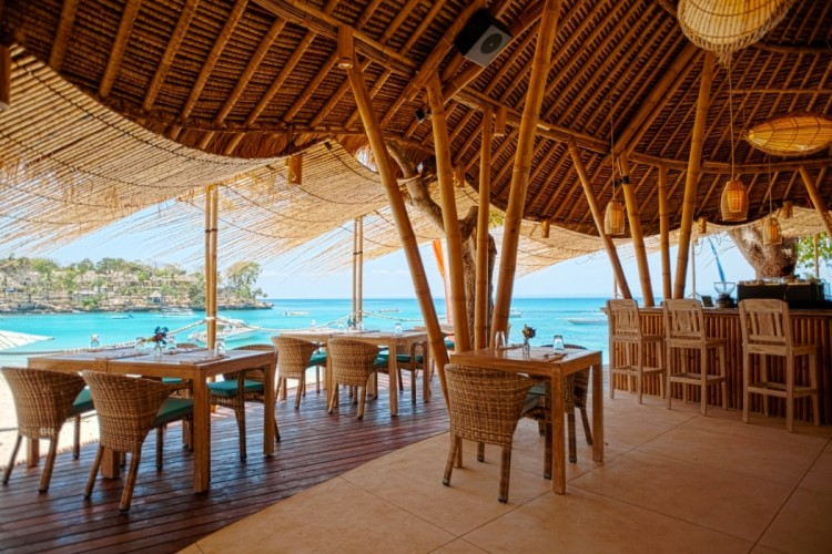 The bar at the new resort I was trapped at. Not the worst... (image from Citizen Femme)